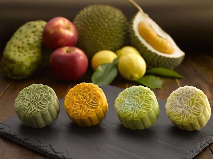 Peony Jade Fruity Snowskin Moon Cakes