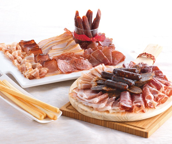 Cold Storage Christmas - Gourmet and Continental Salami Platter