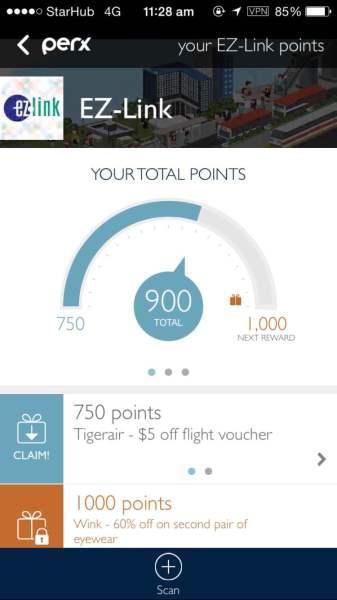 Rewards Scheme - Total points
