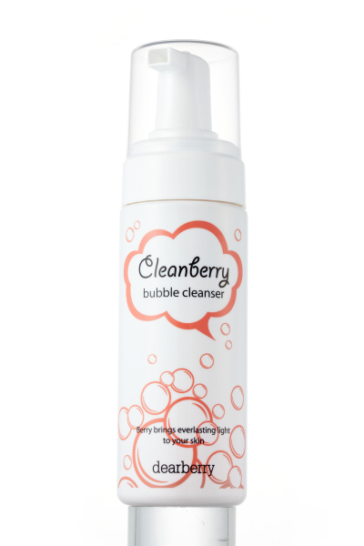 cleanberry bubble cleanser