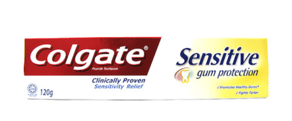 EXPERTS CHOICE: BEST HERO SENSITIVE TOOTHPASTE - Colgate Sensitive Gum Protection Toothpaste.