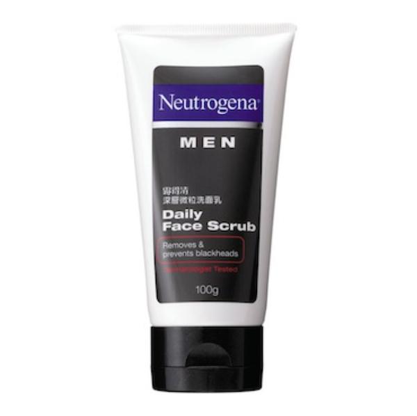 EXPERTS CHOICE: BEST HERO MEN'S CLEANSER - Neutrogena MEN Daily Face Scrub