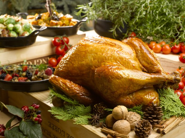 Traditional Roasted Christmas Turkey