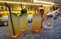 Qantas First Lounge Rockpool Cocktails
