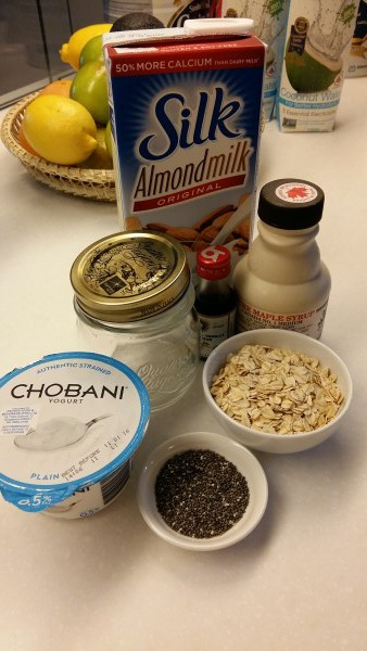 Ingredients with Almond Milk 2