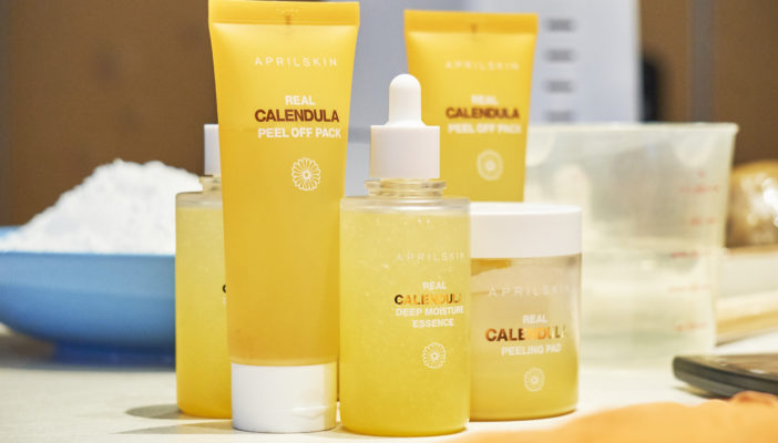 Dawn of Newborn Skin with Real Calendula: APRILSKIN