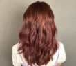 blackhair-salon-rose-gold-hair-colour